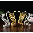 Creative Golden Swan Fruit Fork Set Dessert Fork Tableware Wedding Gifts 6731