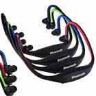 Sport Wireless Bluetooth Handfree Stereo Headset Headphone For iPhone Samsung RF