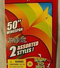 Kite Kits Wild Flyer Stripes 2 Choices Twine Winder Tails Easy Fly Nylon 50