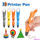 3D Printing Drawing Pen Crafting Modeling ABS/PLA w/ Filaments Arts Printer Tool