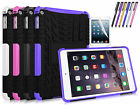 Dual Layer Hybrid Protective Hard Case Cover Stand for Apple iPad Mini 4