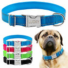 Didog Reflective Custom Dog Collars Personalized Dog Nameplate Engraved for Free