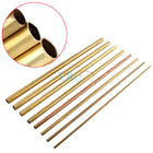 50cm Seamless Round Brass Pipe Copper Tube OD 6-20mm for Transfering Modelmaking