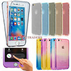 Hybrid 360° New Shockproof Case TPU Gel Skin Cover For Apple iPhone 7 5s 6s SE