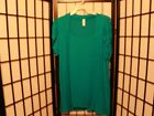 Women's Short Sleeve Turquoise Green Shirt