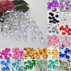 100PCS 10MM Wedding Party Decor SCATTER Table Crystals Diamonds Acrylic Confetti