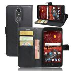 PU Leather Flip Cover Credit Card Wallet Stand Case For ZTE Grand X4