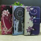 Wind Chimes Lovely Flower Wallet Stander flip case cover For Alcatel Phone