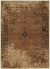 Andorra by Oriental Weavers Traditional Classic Gold Brown Area Rug 6845d