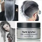 New DIY Hair Color Unisex Wax Mud Dye Cream Temporary Modeling Fashion 7 Colors