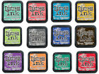Ranger Tim Holtz Distress Ink Pad-Abandoned Coral-Fossilized Amber-Hickory Smoke