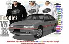 88-91 VN SS COMMODORE SEDAN HOODIE ILLUSTRATED CLASSIC RETRO MUSCLE SPORTS CAR