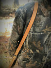 Leather Strap Gun Sling Adjustable with Swivels -Made in USA-Slings & Swivels - 73977