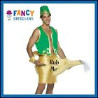 Adult Mens Genie in a Lamp Funny or Bucks Costume