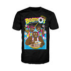 WWE The New Day BootyO`s Officially Licensed Mens Ladies T-shirt Black