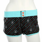 Paul Frank $60 Blue Black Skurvy Swim Polka Dot Short Swimming Board Shorts NWT