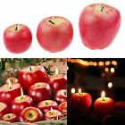 Upick Fancy Fruit Apple Strawberry Apple Orange Wax Candle Xmas Party Decorate