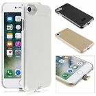 QI Wireless Charging Receiver Charger Gel Back Case For iPhone 7 6 6s