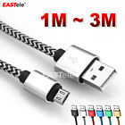 Braided USB Charger Cable for PLAYSTATION PS4 Dualshock 4 Wireless Controller