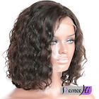 """Charming Natural Weavy Indian Human Hair Full/Front Short Hair Lace Wigs-14"""""""