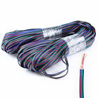 5-100m 4-PIN 22AWG RGB Extension Wire Cable Cord for 3528 5050 RGB LED Strip