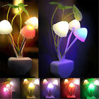 EU/US Plug Color Charging Mushroom Sensor Night LED Light Home Decor Hot Sale