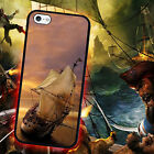 Pirate Ship Treasure for iPhone 5 5s 4 4s 5c 6 6 7 Plus iPod touch Pone Case