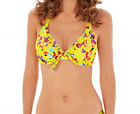Lepel Swim LE157561 Sunset Halterneck Bikini Top in Yellow