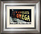 Cycles Omega , French Posters and framed pictures