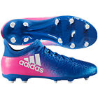 adidas X 16.3 FG 2017 Soccer Shoes Cleats Blue / Pink / White Kids - Youth