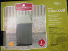 Garden Oasis Patio Chair Cover 27 x 34 x 46 in. ---new
