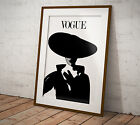 Vogue Magazine Cover Monochrome Jean Patchett Print or Poster Two Sizes NEW