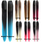 Bado Hair-170g Straight Ombre Claw Pony tail Clip In Ponytail Hair Extension