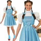 Ladies Teen Dorothy Fancy Dress Costume Wizard of Oz Officially Licensed Costume
