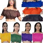 Improv Tribal Style Belly Dance cotton tops - puff tops