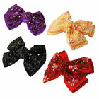 4 Colour Girls Ladies Fashion Shining New Diamante Crystal Bow Hair Clip Hairpin