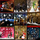 window snowflake stickers - Christmas Tree Snowflake Glass Window Stickers Decal Wall Clings Home Decor