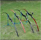 Bow and arrow set entertainment outdoor straight bow archery competition