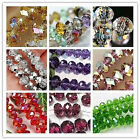 Wholesale New 17 Colors  Crystal Gemstone Loose Beads 6-10mm