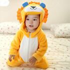 Baby Boy Girl Fancy LION Animal Party Costume Outfit Clothes Dress 00 0 1 2