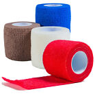 Cohesive Bandage 5cm/2 inch x 4.5m Tattoo Grip Tapes; VETWRAP; 4 Colours
