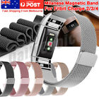 For Fitbit Charge 4 3 2 Band Metal Stainless Steel Milanese Loop Wristband Strap