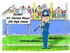 PERSONALIZED CUSTOM CARTOON PRINT - BAND: CLARINET - GREAT GIFT IDEA! FREE S/H