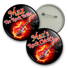 Rock Chicks Personalised Hen Night Badges - 58mm Hen party badges