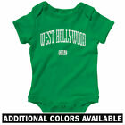 West Hollywood California One Piece - Baby Infant Creeper Romper NB-24M - Gift