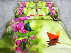 Paper boat 4 Piece bedding set   -5 sizes available