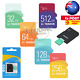 32/64/128GB Micro SD Memory TF Card with Adapter Class 10 SDHC Mobile Tablet AU