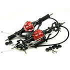Alloy Front & Rear Axle with 4WD Lock For 1:10 RC Crawler AXIAL SCX10