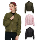 Modern Pure Color Spring Autumn Cotton Jacket Women Coat Overcoat Lady Outwear