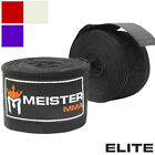 "ELITE 180"" HAND WRAPS BY MEISTER - PREMIUM Elastic MMA Boxing Hand Wraps Wrist"